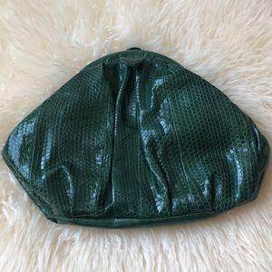 NEW Felix Rey NY emerald clutch